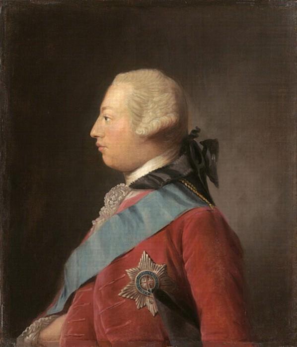 Portrait of King George III. Allan Ramsay