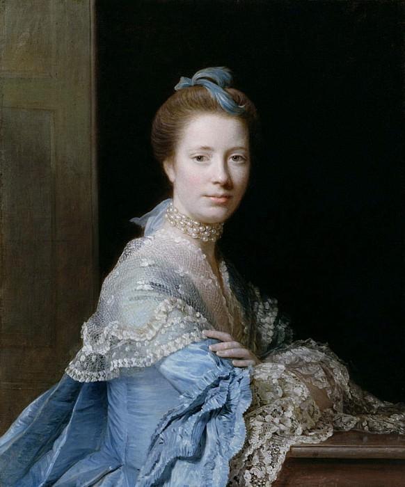 Portrait of Jean Abercromby Mrs Morison of Haddo. Allan Ramsay