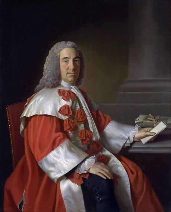 Alexander Boswell (1706-82) Lord Auchinleck. Allan Ramsay