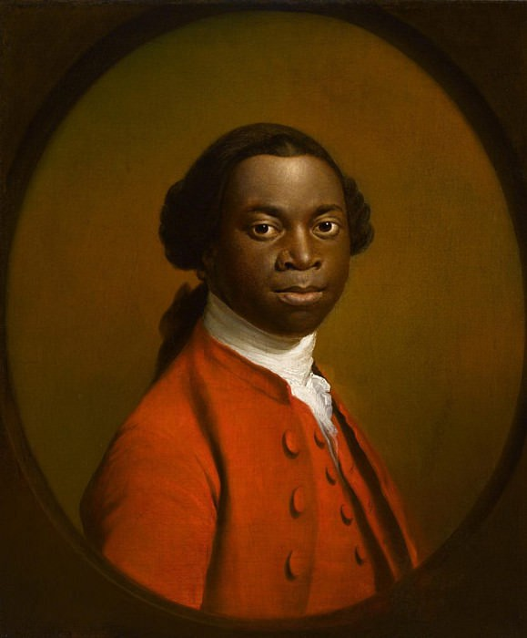 Portrait of an African. Allan Ramsay