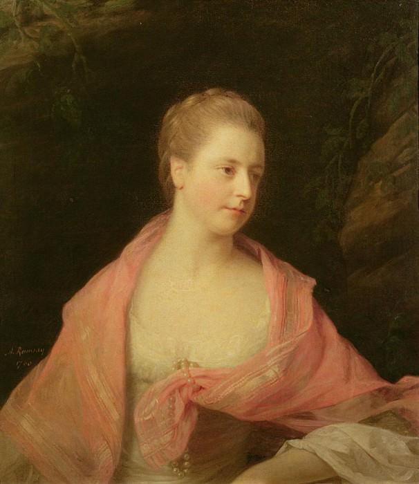 Мари, вторая дочь сэра Роберта Уолпола и жена Джеймса, Графа Уолдегрейва. Аллан Рэмзи