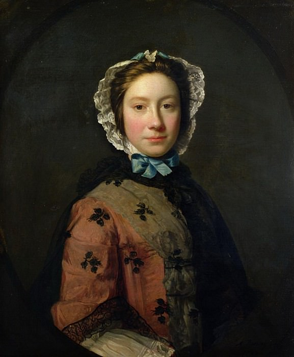 Rosamond Sargent, nee Chambers. Allan Ramsay