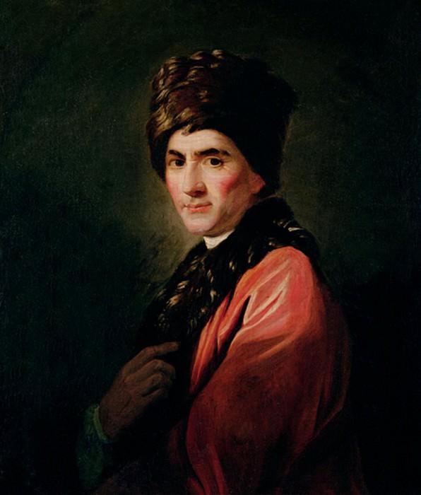 Jean Jacques Rousseau. Allan Ramsay