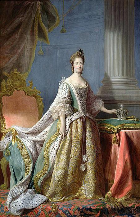 Queen Charlotte (1744-1818). Allan Ramsay
