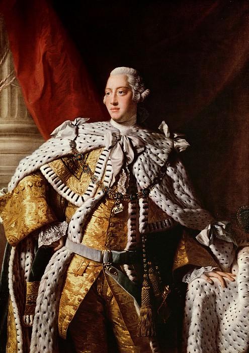 King George III (1762-1764). Allan Ramsay