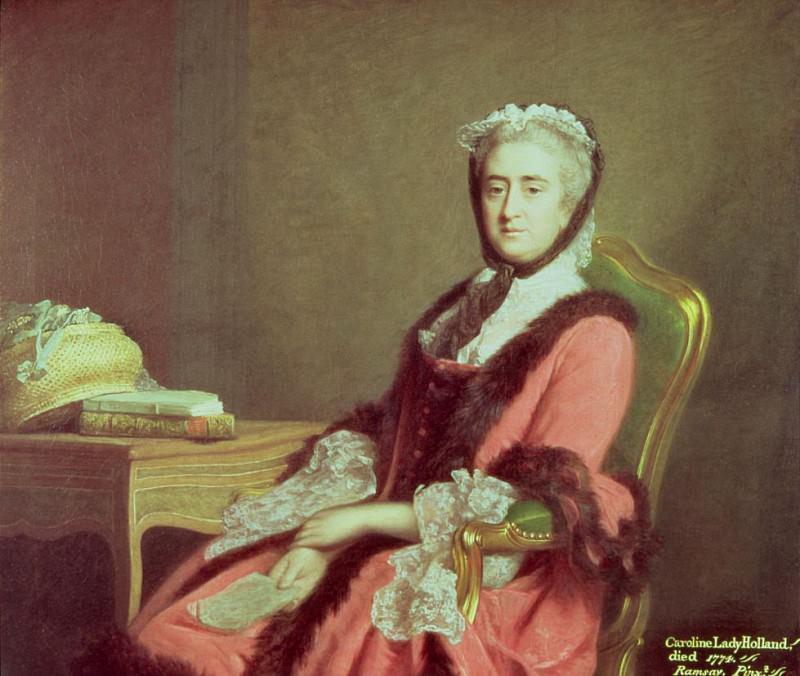 Lady Holland. Allan Ramsay