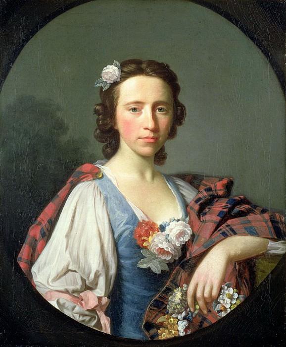 Portrait of Flora MacDonald. Allan Ramsay