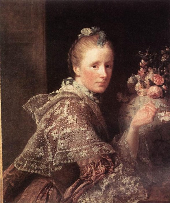 Portrait of the Artist's Wife. Allan Ramsay