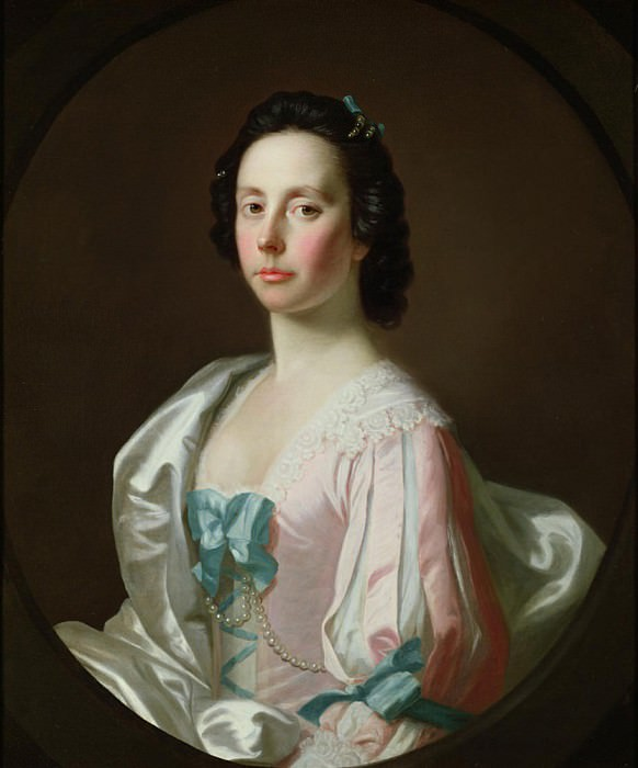 Portrait of Julia Musgrave. Allan Ramsay