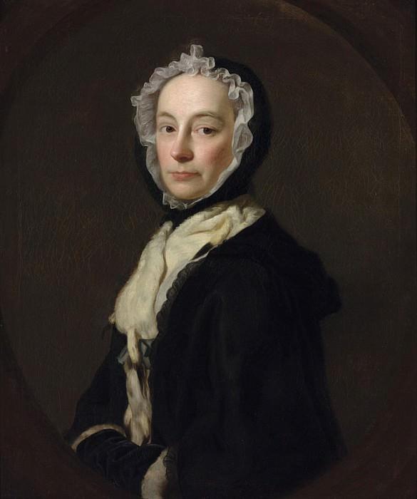 Г-жа Моррис, вдова полковника Морриса из Пёрсфилд Парк. Аллан Рэмзи