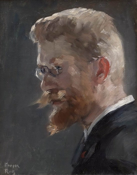 Peder Severin Kröyer. Alfred Philippe Roll