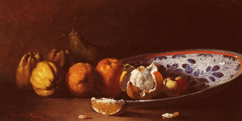 Ribot Germain Theodule Clement Nature Morte Aux Fruits. Жермен Теодуле Климент Рибо
