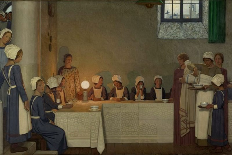 Acts of Mercy Orphans II. Frederick Cayley Robinson
