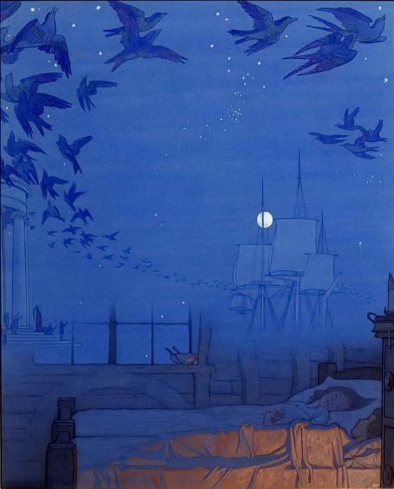 Синяя птица. Фредерик Кейли Робинсон