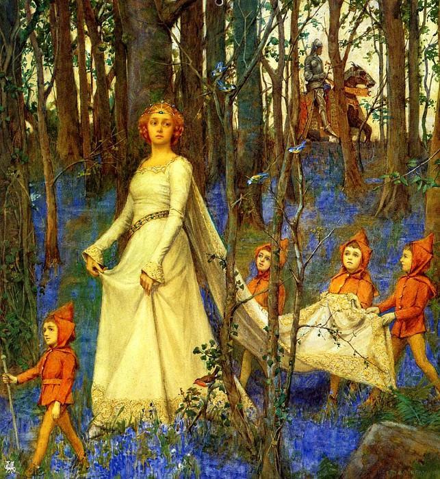 The Fairy Wood. Henry Meynell Rheam