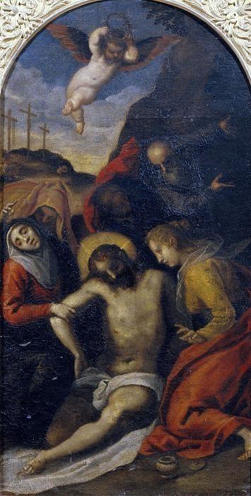 Оплакивание мёртвого Христа. Клаудио Ридольфи