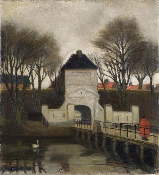 View of Kastellet, Copenhagen. Johan Rohde