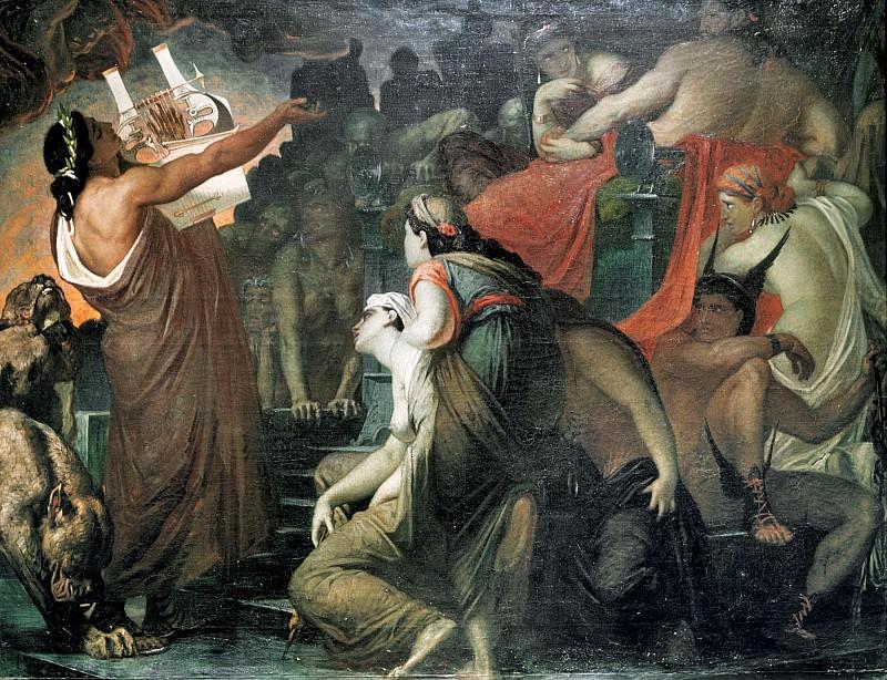 Orpheus in the Underworld. Sir William Blake Richmond