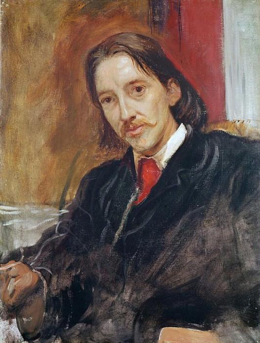 Роберт Льюис Стивенсон (1850-1894). Сэр Вильям Блейк Ричмонд