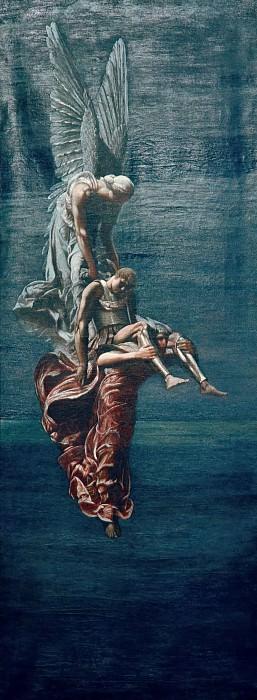 Сон и смерть несущие тело Сарпедона в Ликию. Сэр Вильям Блейк Ричмонд