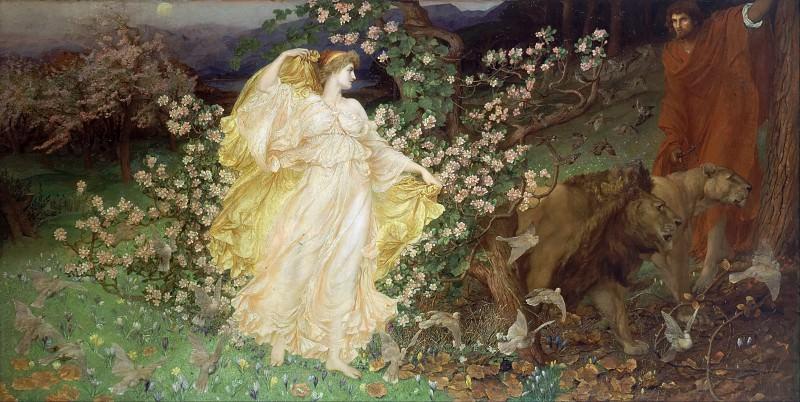 Венера и Анхиз. Сэр Вильям Блейк Ричмонд