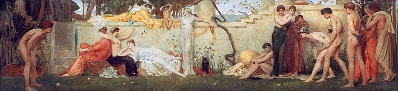 The Bowlers. Sir William Blake Richmond