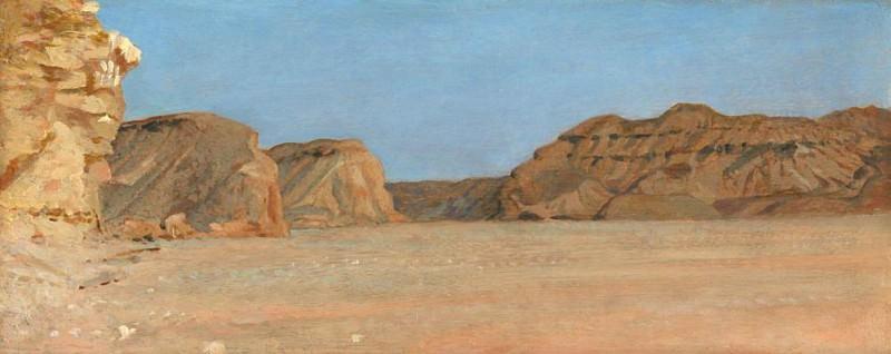 El Kab, Upper Egypt. Sir William Blake Richmond