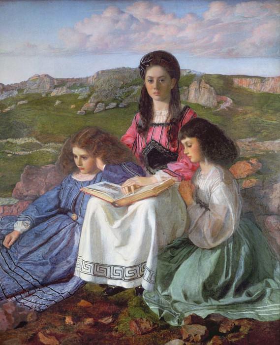 Три сестры Дина Лидделла. Сэр Вильям Блейк Ричмонд