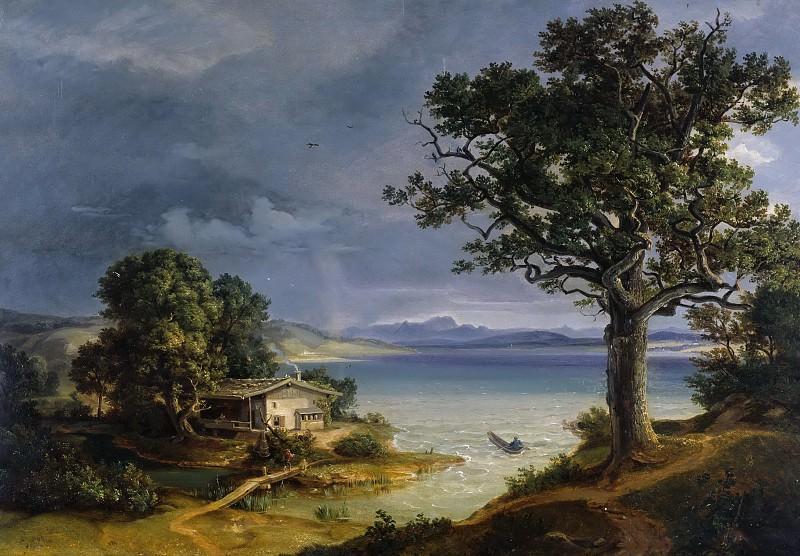 Ammersee. Carl Rottmann