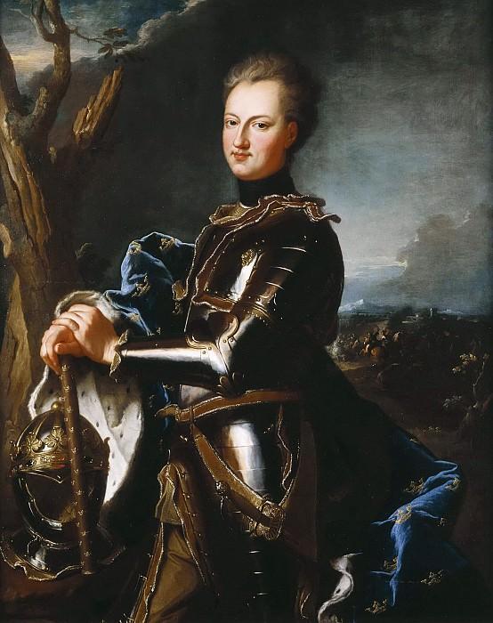 Charles XII. Hyacinthe Rigaud (Workshop of)
