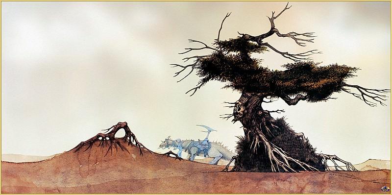 Mnn RDV SWD Dragon and Tree. Минни Роджер