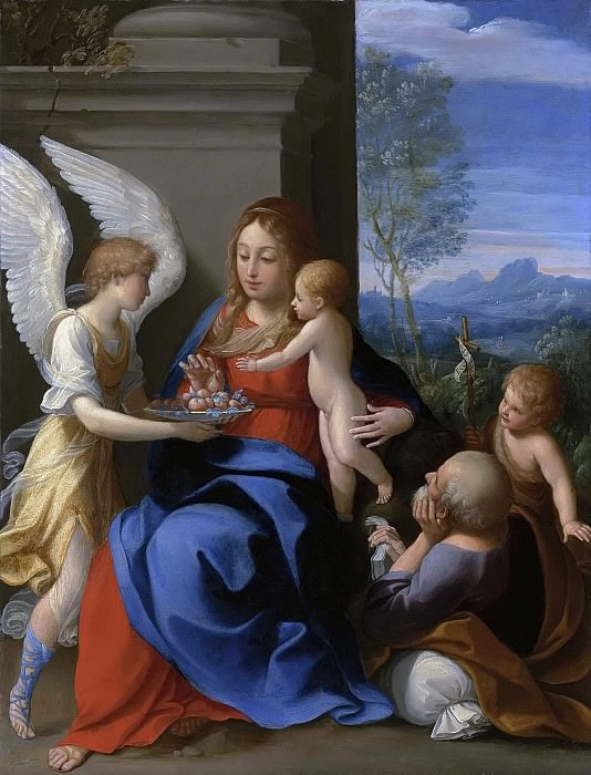 The Rest on the Flight into Egypt. Guido Reni
