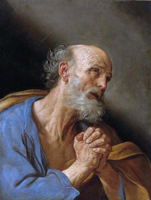 THE PENITENT SAINT PETER. Guido Reni