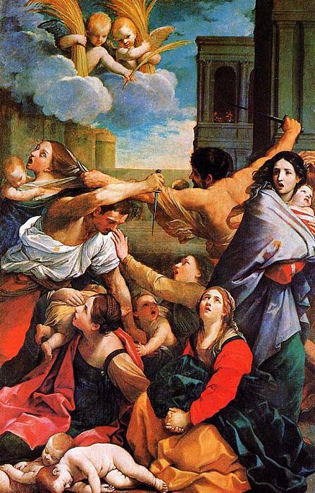 Massacre of the Innocents Bethlehem. Guido Reni