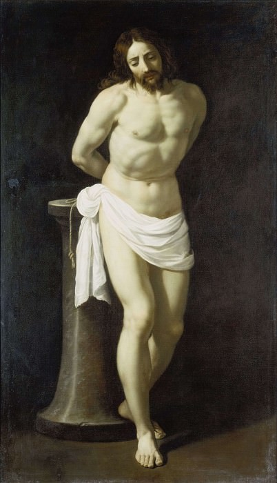 Christ at the column. Guido Reni