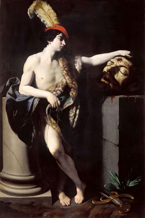 David with the Head of Goliath. Guido Reni