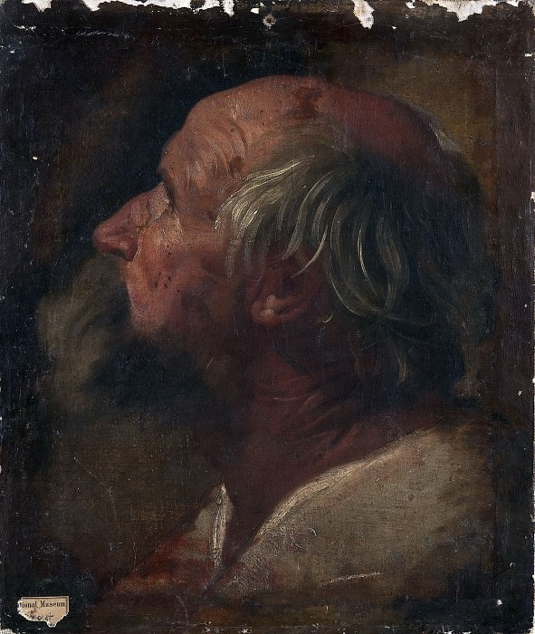 The head of the apostle. Guido Reni (Attributed)