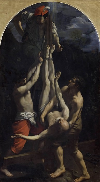 Crucifixion of Saint Peter. Guido Reni