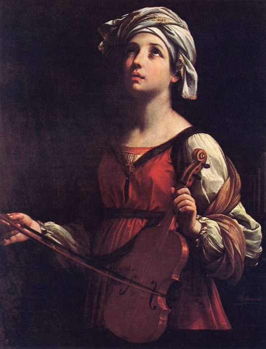 St Cecilia. Guido Reni