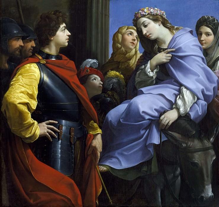 Встреча Давида и Авигеи. Гвидо Рени