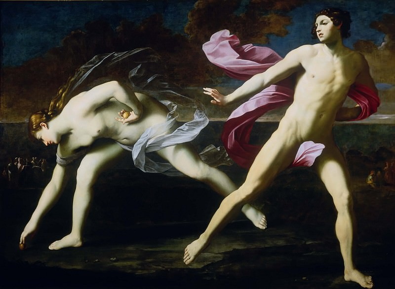 Atalanta and Hippomenes. Guido Reni