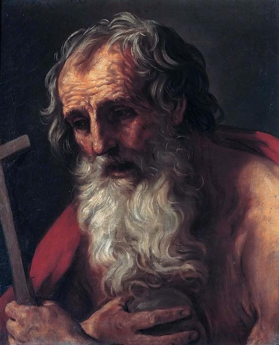 Saint Jerome. Guido Reni