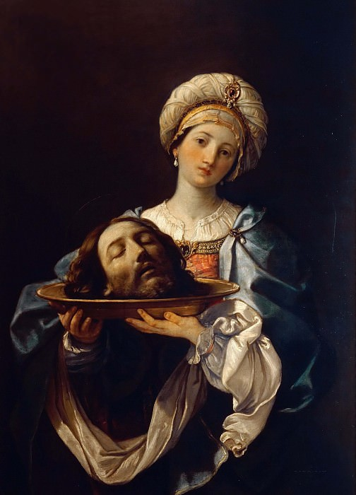 Salome with the head of St. John, the Baptist. Guido Reni