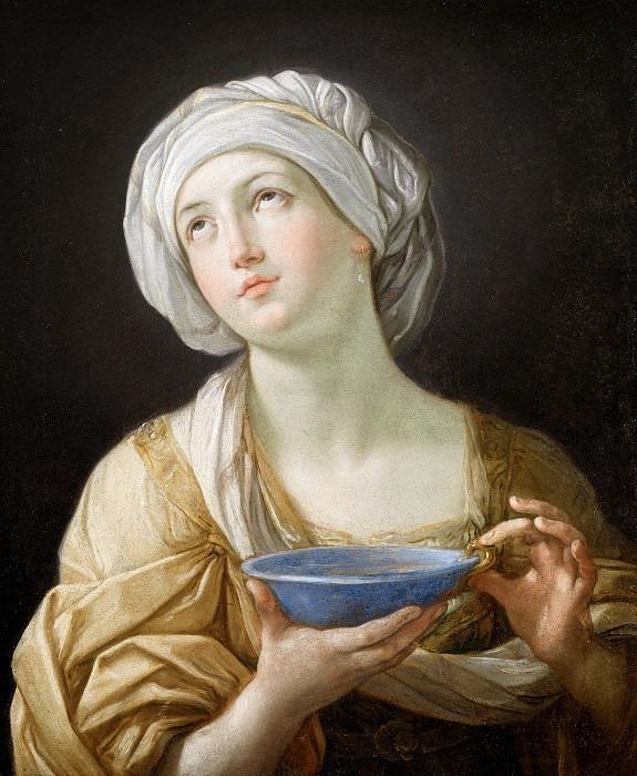 Портрет женщины (Женщина с чашей из лазурита). Гвидо Рени