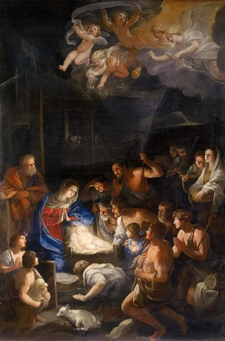 Adoration of the Shepherds. Guido Reni