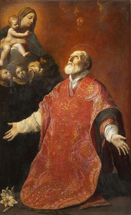 Видение святого Филиппа Нери. Гвидо Рени