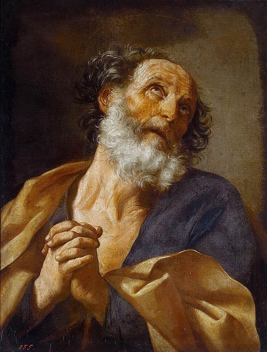 Repentance of St. Peter. Guido Reni