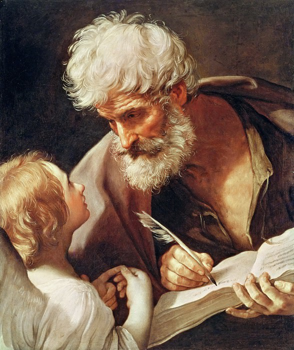 Saint Matthew. Guido Reni