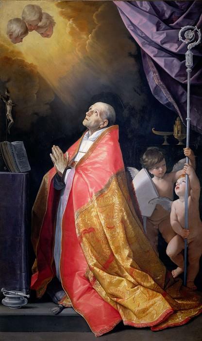 Saint Andrew Corsini in Ecstasy. Guido Reni