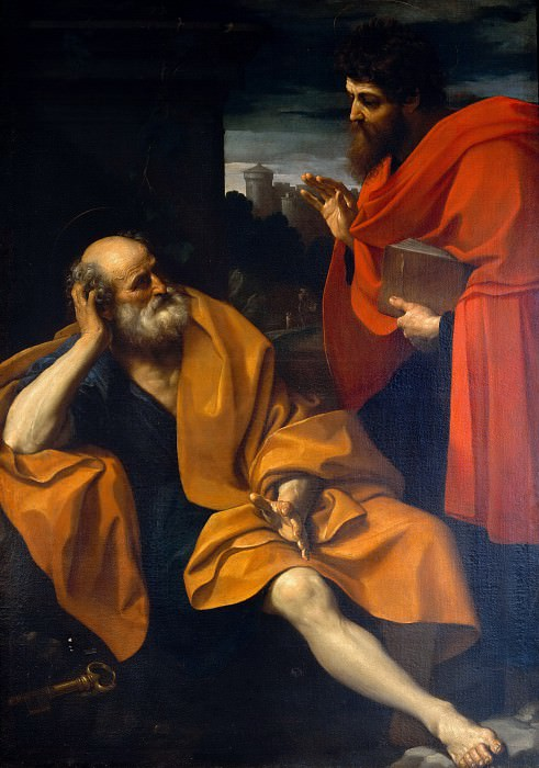 Saint Peter and Saint Paul. Guido Reni